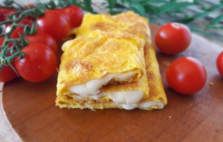 Filoscio con mozzarella, ricetta frittata con mozzarella