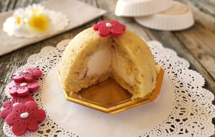 Mini zuccotto con gelato veloce goloso e senza cottura