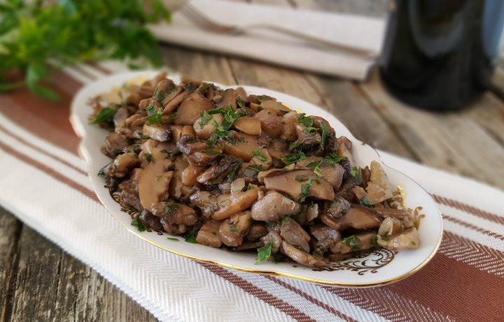 Funghi trifolati, contorno gustoso e ideali per tante ricette