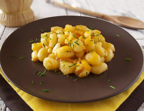 Gnocchi di patate con zucca e seppie primo piatto di gusto