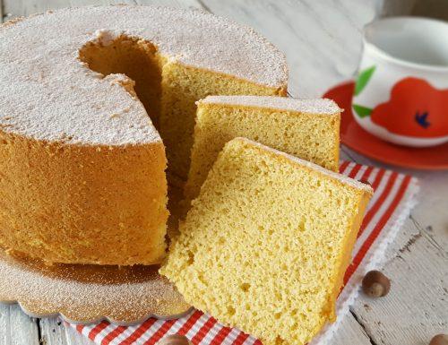 Chiffon cake alla nocciola e arancia sofficità e aroma irresistibile