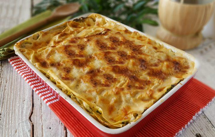 Lasagna ricotta e spinaci cremoso primo piatto