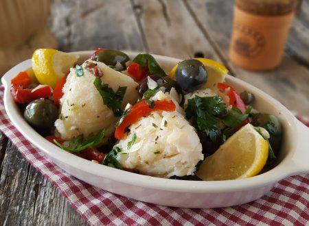 Baccalà all'insalata piatto semplice e leggero