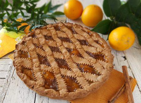 Crostata cacao e arance