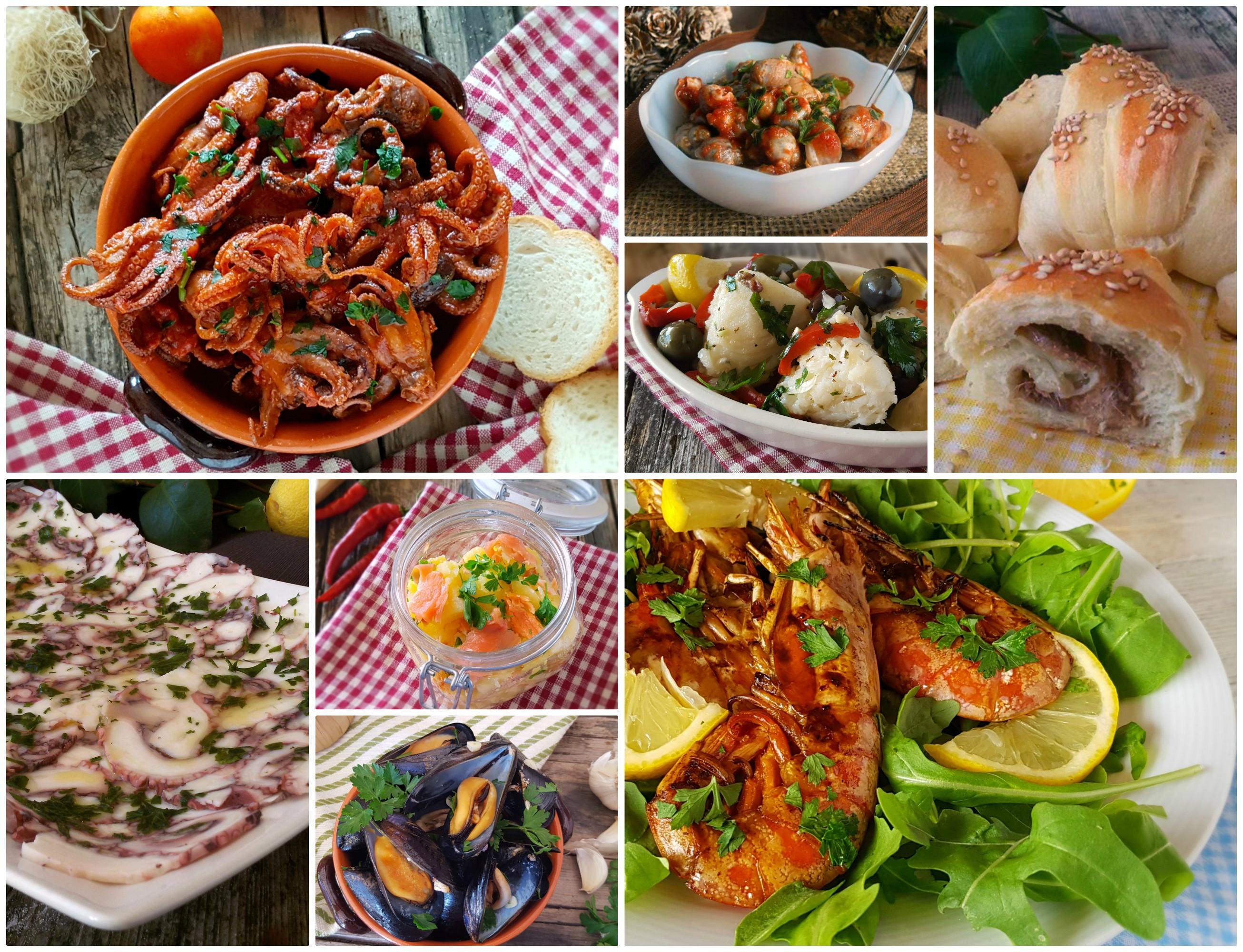 Le migliori ricette di secondi di pesce per natale for Ricette secondi