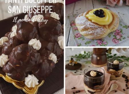 Tanti dolci per San Giuseppe e la festa del papà