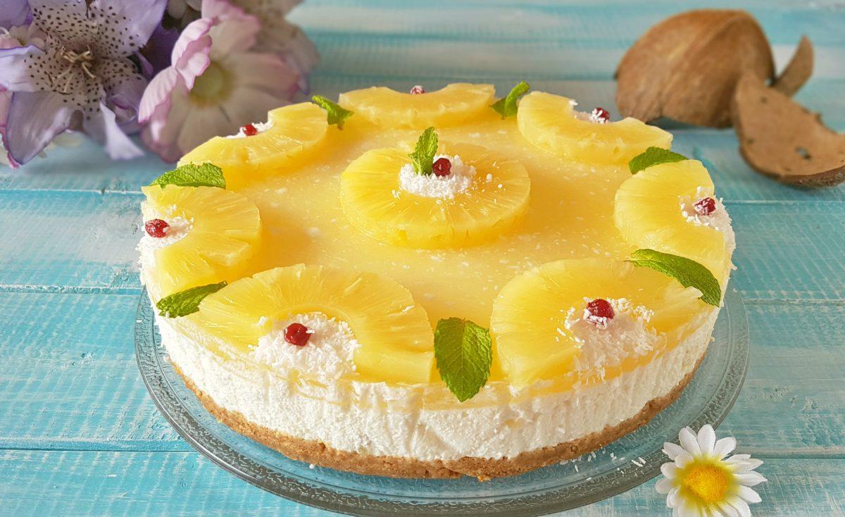 torta-fredda-cocco-e-ananas