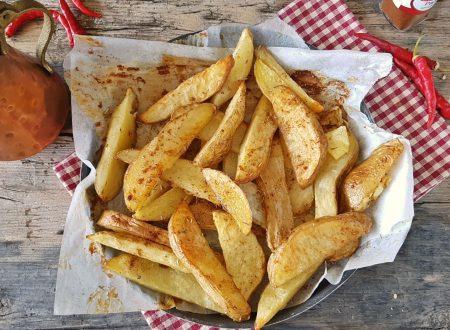 Patate alla paprika al forno croccanti