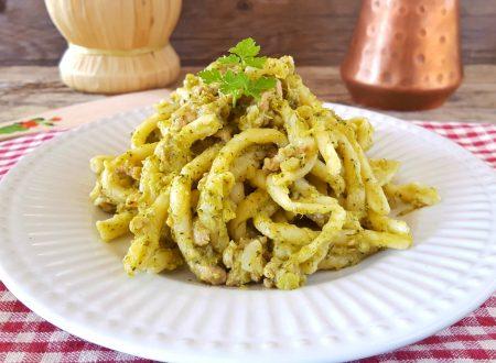 Fusilli alla crema di broccoli e salsiccia