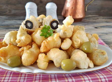 Olive pastellate senza uova gonfie e buonissime