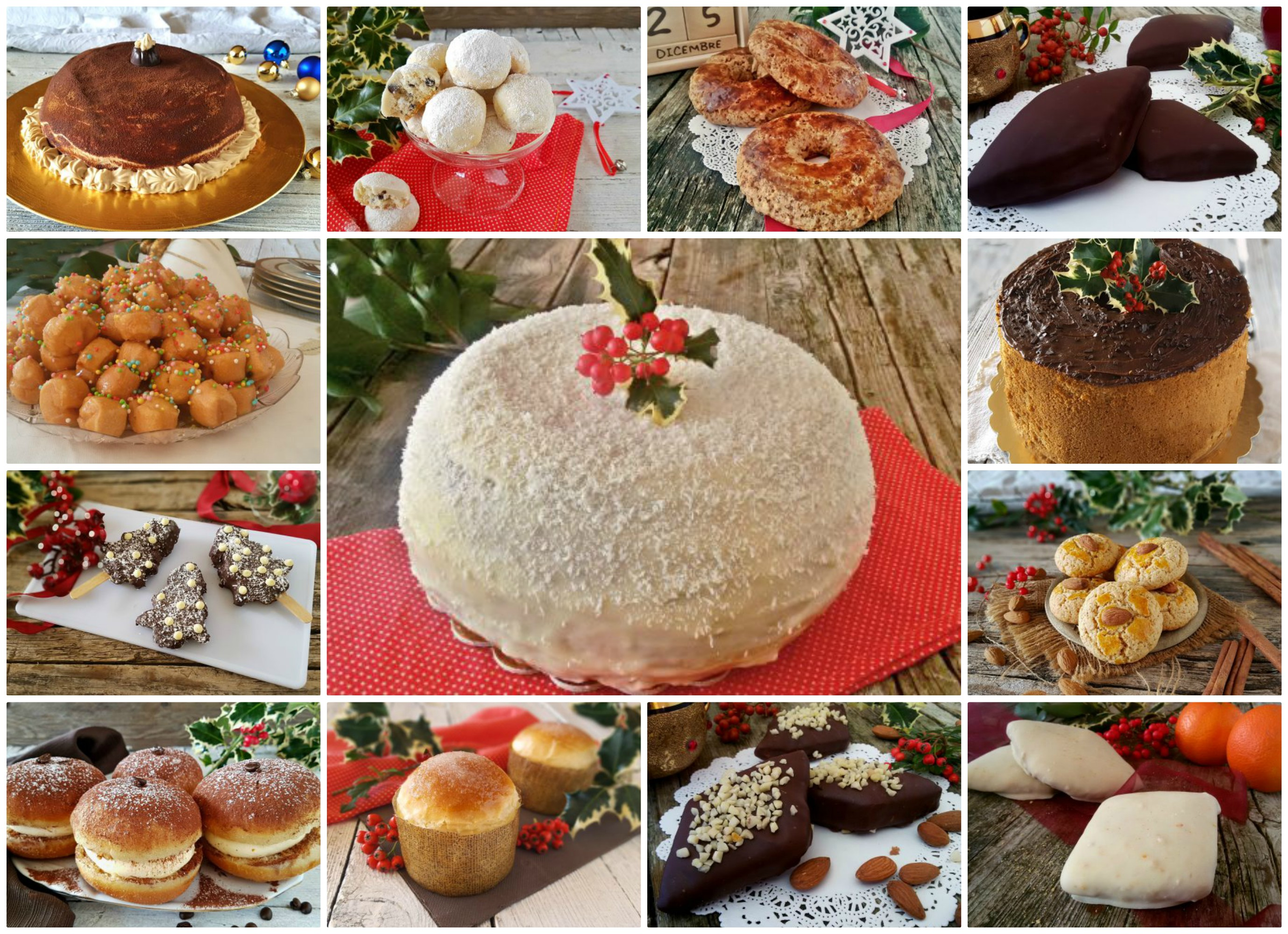Frittelle Dolci Di Natale.Dolci Di Natale Una Raccolta Completa Il Mondo Di Adry