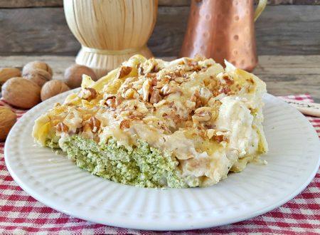 Lasagne ricotta broccoli e noci cremosissime