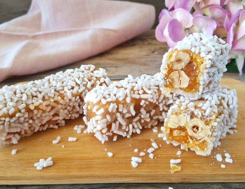 Torroncini zuccherati friabili e buonissimi
