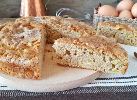 Torta di mele irlandese originale con crosta di zucchero