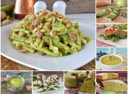 Ricette verdi ovvero il verde in tavola