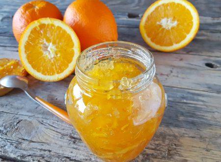 Marmellata di arance con scorzette conserva perfetta