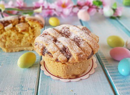 Muffin di pastiera simpatica versione anche da regalare