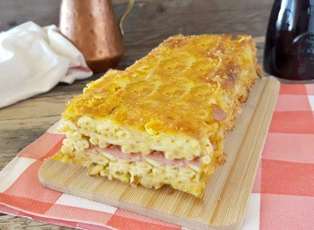 Plumcake di pasta e cipolle facile e buonissimo