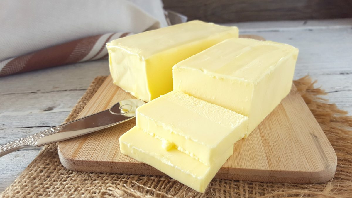 burro fatto in casa