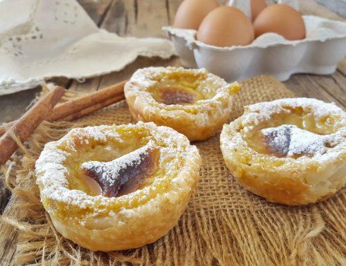 Pasteis de nata sublimi dolcetti portoghesi