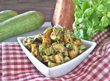 Zucchine trifolate facili veloci e gustose