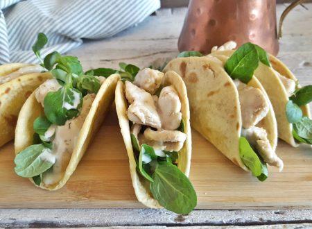 Tacos di piadina facili semplici e veloci