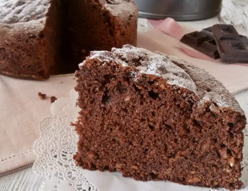 Torta ciocco mandorlata soffice e golosa