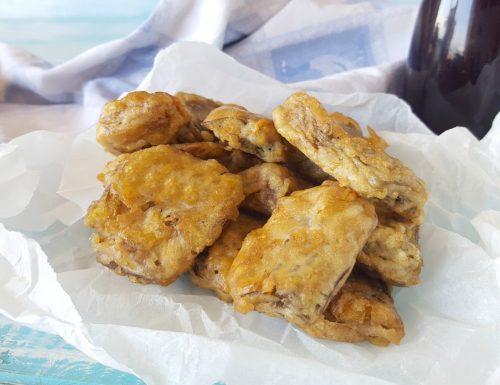 Cuori di carciofi indorati e fritti alla napoletana