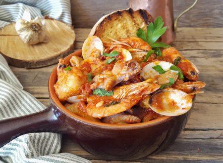 Zuppa di pesce alla napoletana straordinaria