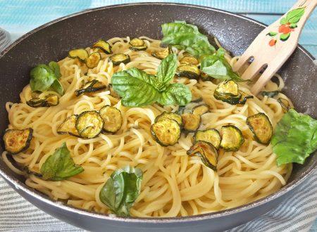 Spaghetti alla Nerano originali e cremosi