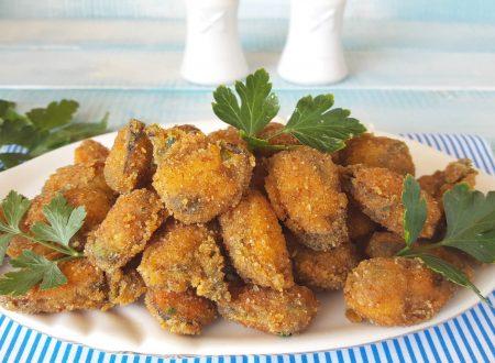 Cozze fritte croccante e sfizioso aperitivo