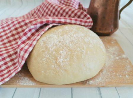 Pasta morta senza lievitazione dal gusto neutro