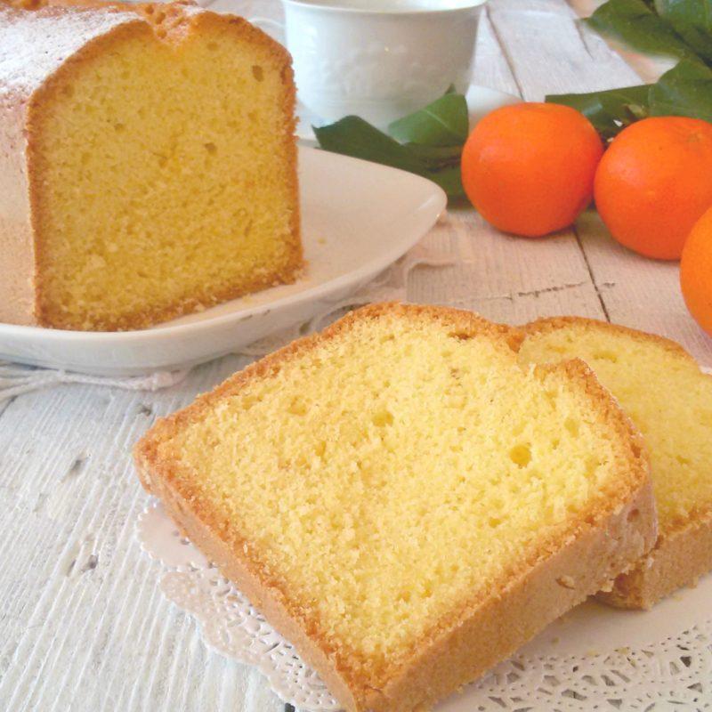 plumcake olio e arancia