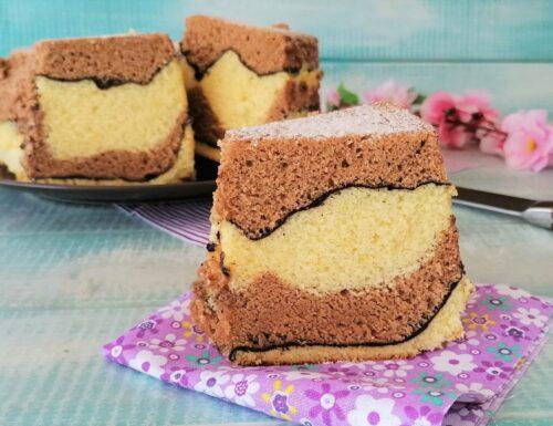 CHIFFON CAKE GIRAFFA SOFFICE GOLOSA E SCENOGRAFICA