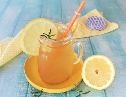 Tè freddo al limone FATTO IN CASA DAL GUSTO INTENSO
