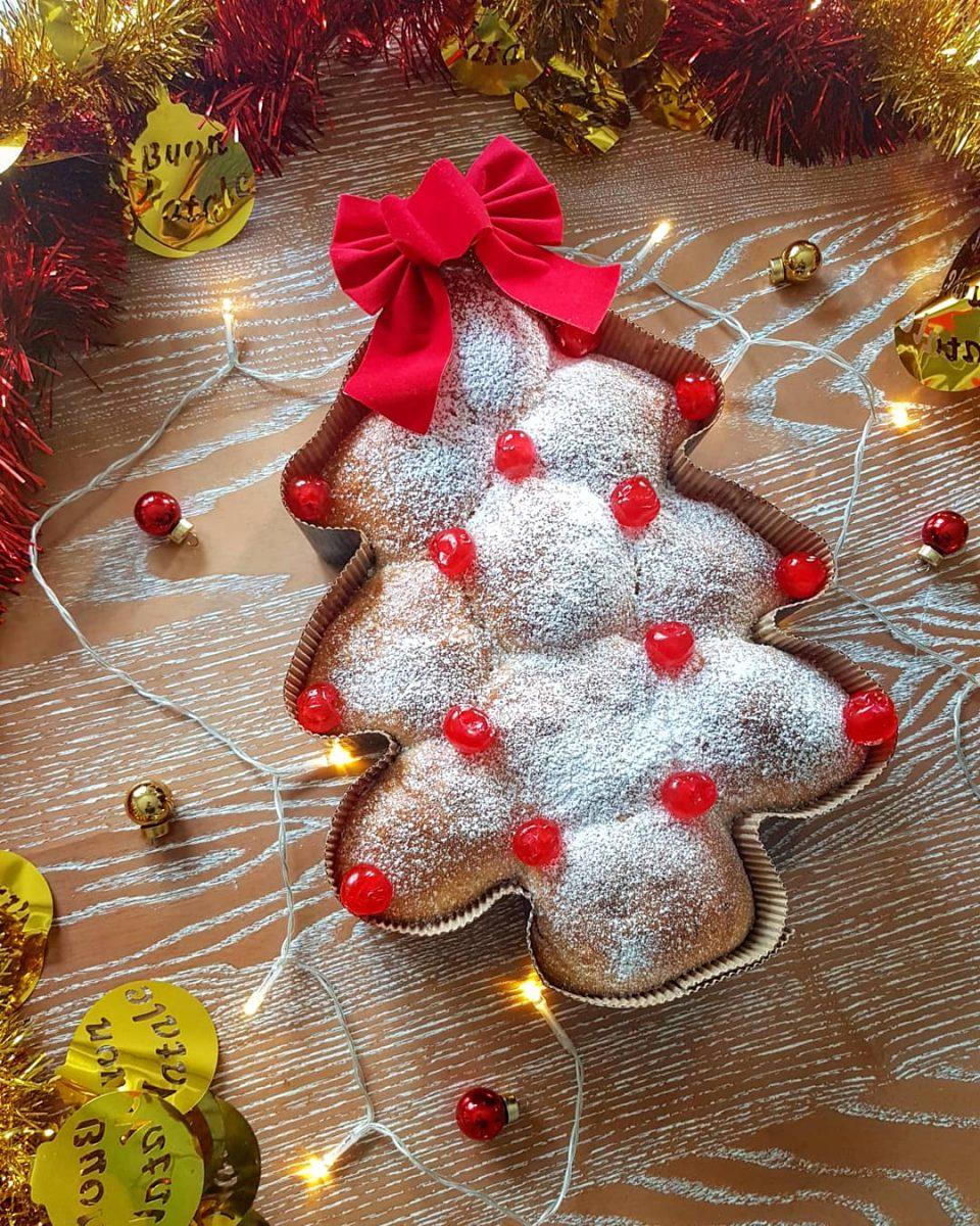 pan brioche albero di Natale