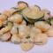 Gnocchi di patate con brie e zucchine