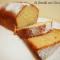 Plum-cake con farina di farro e cocco