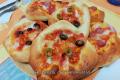 Pizzette con impasto alla crescenza