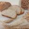 Pane con farina di ceci e integrale