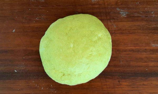 Pasta Frolla All'Avocado e Scorza Di Limone
