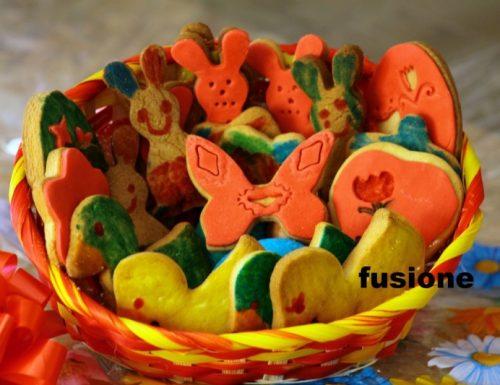 biscotti pasquali decorati, fatti da veri artisti