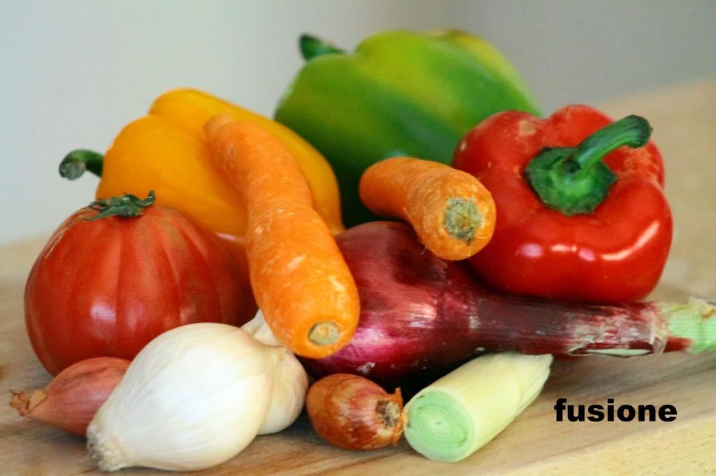 cous cous alle verdure e pollo