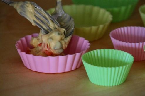mini plumcake agli asparagi