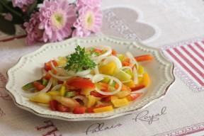insalata peperoni crudi