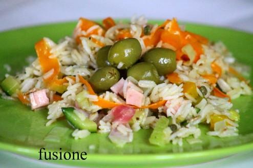 insalata riso basmati verdure