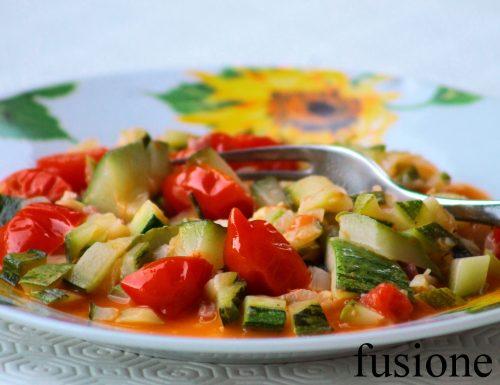 zucchine in umido, ricetta veloce