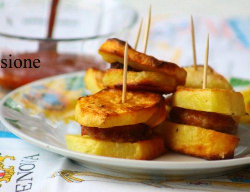 patate al forno con salsiccia – ricetta sfiziosa