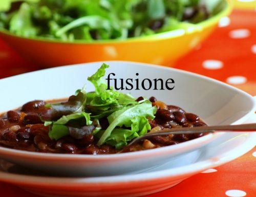 zuppa fagioli rossi / un mare di sensazioni