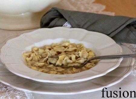 cappelletti in brodo – ricetta reggiana